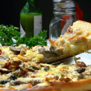 Pizzeria à Varilhes - Pizzas à base de crème fraiche
