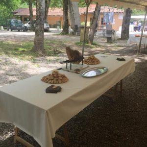 traiteur en ariège découpe et dégustation de jambon patanegra